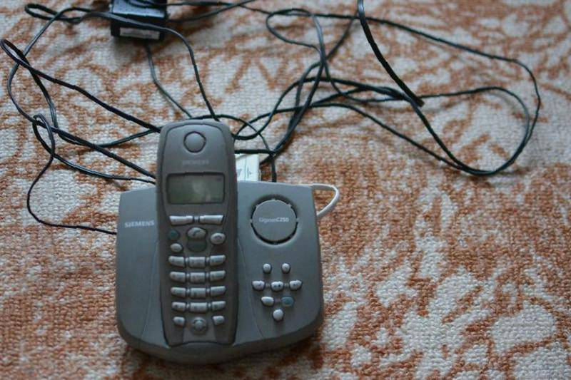 инструкция к радиотелефону siemens gigaset c250