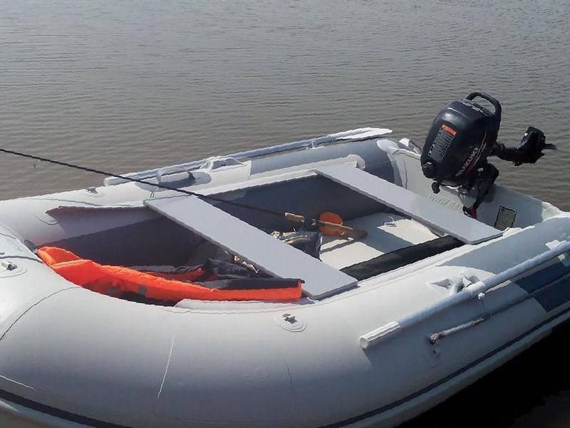Лодка баджер 300 с мотором