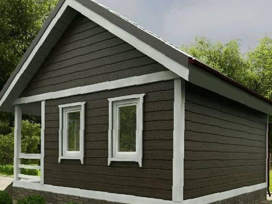 Дачный домик своими руками 5х5 69