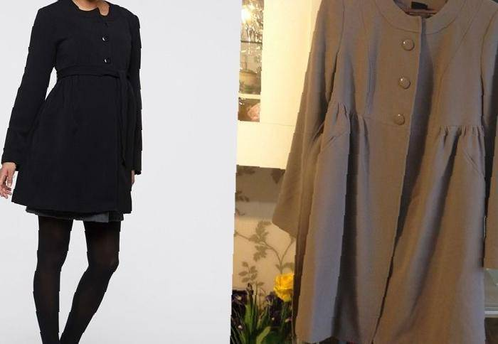 Пальто для беременных бу 9