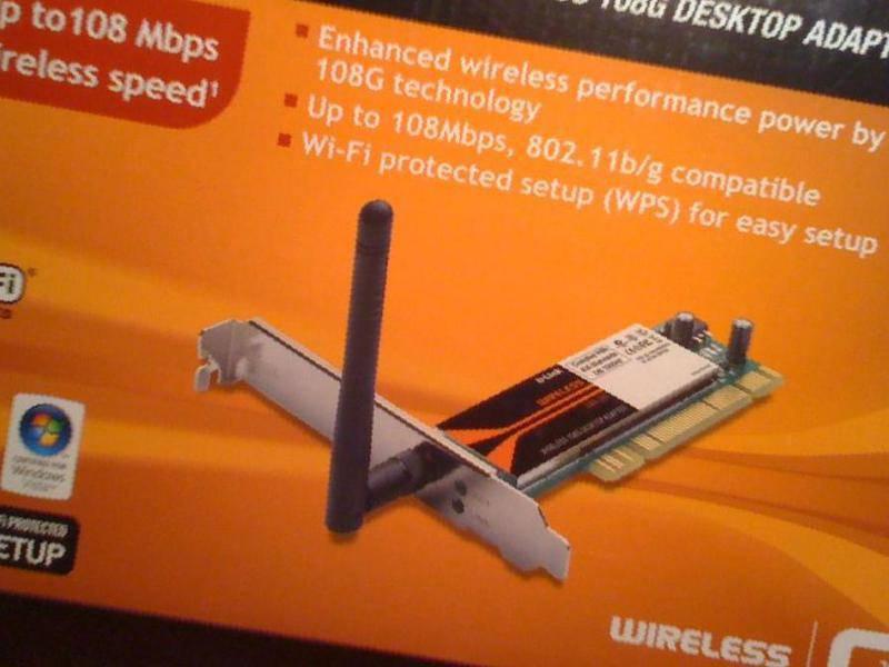 Драйвера для Wireless 108G Desktop Adapter