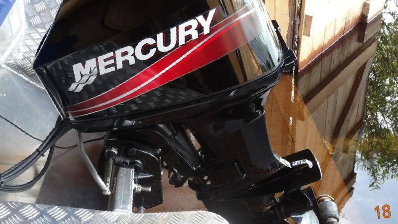 У нас самый быстрый ремонт лодочных моторов MERCURY в Москве.