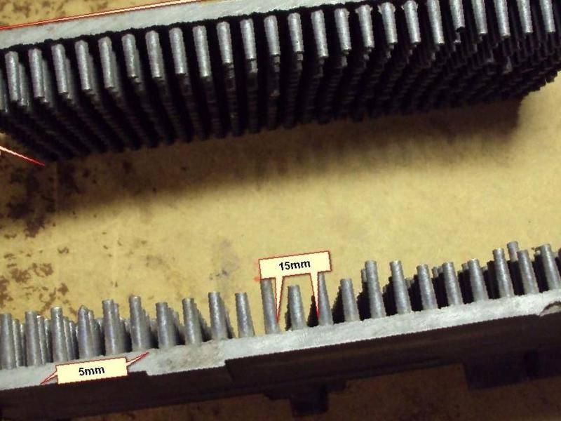 Игольчатый радиатор своими руками 15