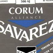 Savarez 500AJ Corum Alliance Blue high tension, бу