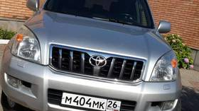 Toyota Land Cruiser Prado, 2007, бу